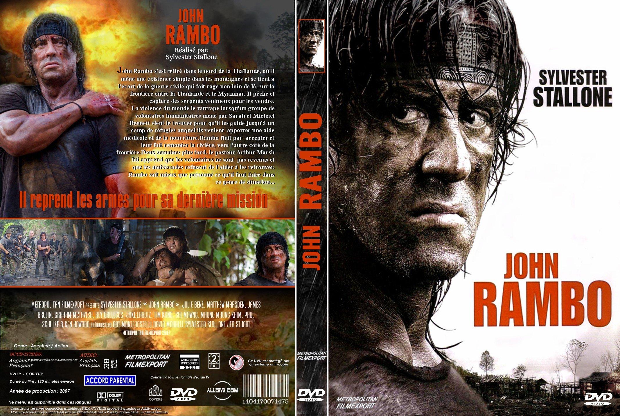 Rambo 5 dvd / Imdb party down south